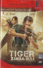 TIGER ZINDA HAI - YRF 2 DISC SET (DVD & AUDIO CD) BOLLYWOOD DVD - Salman Khan.