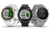 New 2019 Garmin Approach S40 GPS Golf Watch - Pick Gray, White, or Black