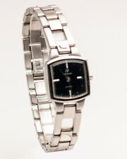 ANDRE FRANCOIS:WOMEN'S STAINLESS STEEL  SILVER TONE METAL  LINKS ANALOG WATCH