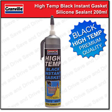 Granville High Temp Black Instant Gasket Power Can Silicone Sealant 200ml