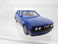 eso-2973Herpa 1:87 BMW 735i blau mit minimale Gebrauchsspuren,winzige Kratzer
