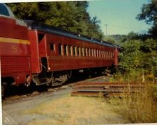 Old Vintage Photograph Train Cars Delaware Otsego Station