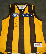 Leigh Matthews Signed Hawthorn L/E 5 Decades Jumper - AFL Player of the Century