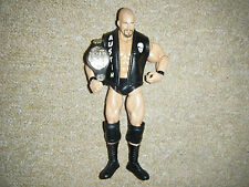 STONE COLD STEVE AUSTIN DELUXE CLASSIC BELT JACKET RARE WRESTLING FIGURE WWE WCW