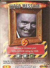 DR WHO DEVASTATOR CARD 1060 VIDEO MESSAGE