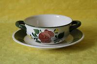Villeroy und Boch Bauernblume Suppentasse mit Untertasse Tasse Untere 13,5 cm