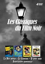 Coffret 4 DVD Film Noir : The Big Combo, La Rue Rouge, Je dois tuer, Le Criminel
