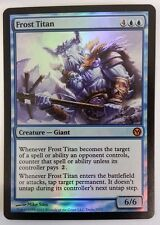 1x Frost titan! Duels of the planeswalker FOIL! Engl. NM MTG