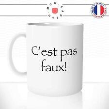 Mug C'est Pas Faux Kaamelott Perceval Fun Série Idée Cadeau Tasse Personnalisée