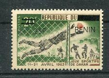 Benin 1480 postfrisch / Fußball ..........................................1/1059