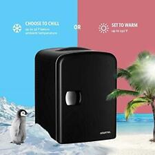 Small Mini Fridge For Office Bedroom Car Gourmia refrigerator Portable Freezer
