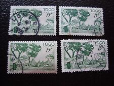 TOGO - timbre yvert et tellier n° 251 x4 obl (A33) stamp (A)