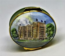 Crummles English Enamel Box - Dorchester Hotel - London, England - Mib