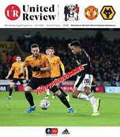 Manchester United v Wolves  2019/20 FA Cup Programme Free Uk Post