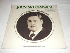 "John McCormack ""A Legendary Performer"" 1977 Irish Folk LP, SEALED!, +Booklet"