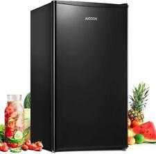 3.3 Cu Ft Mini Fridge Single Door Small Refrigerator Freezer Compact Storage