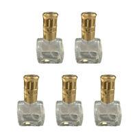 10ml Empty Glass Perfume Spray Bottle Atomizer Refillable Travel Gift 5PCS