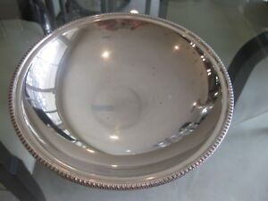 "Vintage Chiaravalli 800 Silver 7 3/4"" Footed Compote with Design Trim"