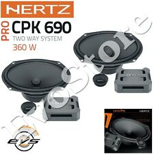 "Hertz CPK 690 Kit Casse Altoparlanti 2 Vie per Jeep Renegade Woofer Ovale 6x9"""