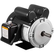 Electric Motor 1 12 Hp Single Phase 3450rpm Tefc 58 Shaft Rotation 56 Frame