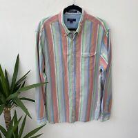 Mens Gant Shirt Patel Stripes Vintage 90's Y2K Sz 2XL