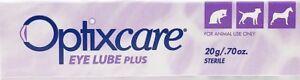 Optixcare Eye Lube Plus 20g Dog Cat Horses