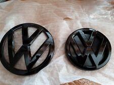 VW GOLF 7 MK7 2013-2017 Glanz schwarz vorne & hinten Emblem GTI / R / GT-TDI