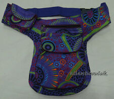 P57 Cotton Waist Belt shoulder sport Travel Messenger Hip Fanny Wallet Bag Purse