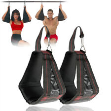 AB SLING HANGING AB STRAPS | REVERSE PULL SIT UPS ON CHIN UP BAR AB KING DOER X1
