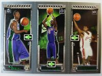 2003-04 Topps Rookie Matrix Chris Bosh, Ford, LeBron James Rookie RC