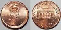 2000 D - RARE DATE - OFF CENTER BROADSTRUCK - LINCOLN CENT MINT ERROR  #9716