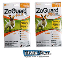 ZoGuard Plus Promika 4-22 Lb Kills Fleas and Ticks For Dogs 6 Month Supply