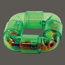 Papageienspielzeug ! The Rattler Ring !  Fuß - Tischspielzeug ! Es rappelt schön
