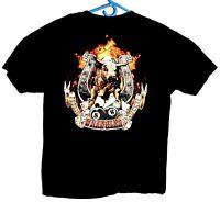 Wrangler Mens Graphic Tee Shirt Size Large Gray Steer Print Short Sleeve