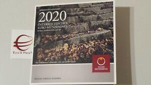 2020 Austria 8 monete 3,88 euro Autriche Österreich fdc bu kms 奥地利 Австрия