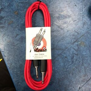 Guitar cable 3m Red