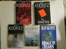 5  Hardcover books from Dean Koontz