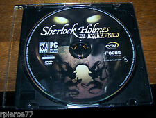 CDV Games - SHERLOCK HOLMES - THE AWAKENED - PC DVD-ROM - Rated M - EUC!