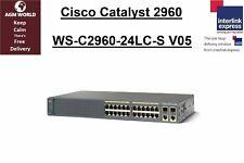 Cisco Catalyst 2960-Plus 24-Port Managed (PoE) WS-C2960-24LC-S V05