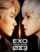 EXO: OBSSESSION* CD+Full Package Poster (SM) 6th Album K-POP