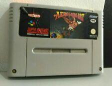 Aero The Acro Bat Acrobat Gig Super Nintendo Snes Sunsoft Loose PAL Version