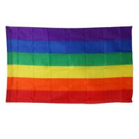 Regenbogenfahne Fahne Flagge Flag Rainbow LGBT Regenbogen 90 x 150cm