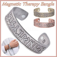 Bracelet magnétique Celtic Noeud Design Magnetic Arthritis Healing Therapy MENS