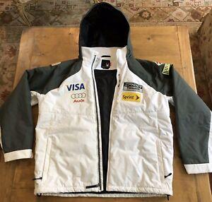 Spyder US Ski Team Jacket Men's XL Hooded USST Winter Ski Coat
