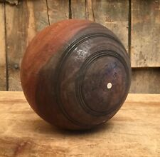 Vintage Large William Sykes Ltd English Athletic Wood Bocce Ball Game Sports