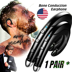 Bluetooth Earbuds for iPhone Samsung Android Wireless Earphone WaterProof 1 Pair