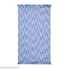 IKEA LAPPLJUNG - Flatwoven Rug Low Pile Rectangular Blue Cotton NEW