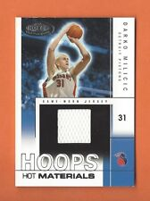 2004-05 HOOPS HOT PROSPECTS DARKO MILICIC GAME-USED JERSEY #d 347/500 PISTONS