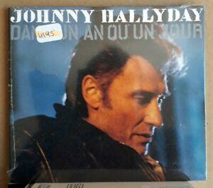 CD Single Johnny Hallyday – Dans Un An Ou Un Jour. or.fr 1992 - Neuf Secllé !
