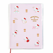 Hello Kitty Datebook A5 2022 Monthly Schedule Book Planner Sanrio Japan Official